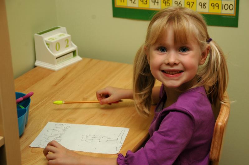 Linnea starts Kindergarten.
