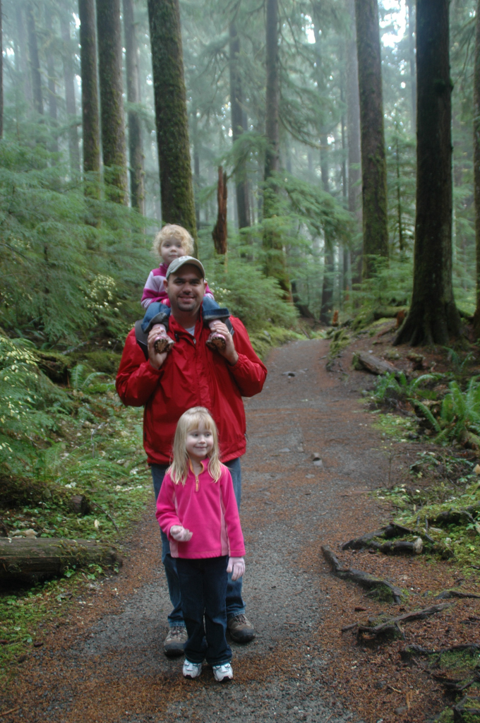 hiking near Sol Duc